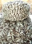 Пряжа «Овечка меланжик» 170м 100гр шерсть .
