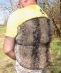 Пояс на поясницу «Убойный» из собачьей шерсти .