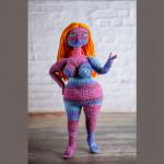 Вязаные куклы-толстушки
