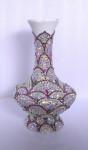 Интерьерная керамическая ваза, инкрустированные стразами