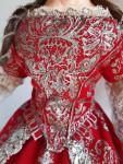 Исторический костюм  Екатерина Первая, Россия 18 век