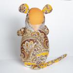 Текстильная мышка