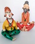 Статуэтка  йогиня в медитации