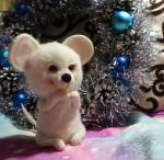 Белый мышонок